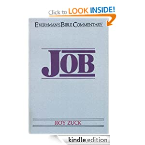 Job- Everyman's Bible Commentary (Everymans Bible Commentaries) Roy B. Zuck