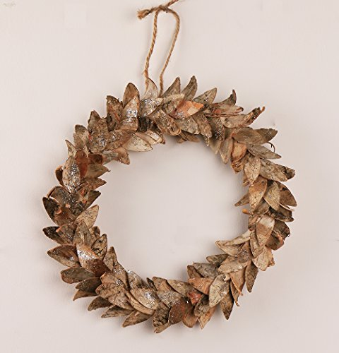 Natural Birch Christmas Wreath Fall Front Door Wreath Woodland Rustic Birch Scraps Wedding