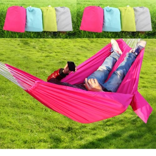 Travel Camping Outdoor Parachute Nylon Fabric Hammock Swing for Double Person (Eagles Peak 6 Person Tent compare prices)