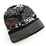 Ski Knitted Woolen Men Male Winter Earflap Camouflage Pattern Hat ...