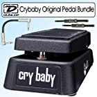 Dunlop GCB95 Original Crybaby Wah Pedal Bundle