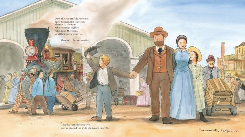 Locomotive-Caldecott-Medal-Book