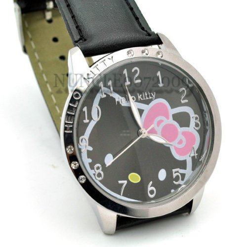 Miss Peggys, Hello Kitty Classic Hello Kitty Quartz Watch and a Big Bling Hello Kitty Necklace