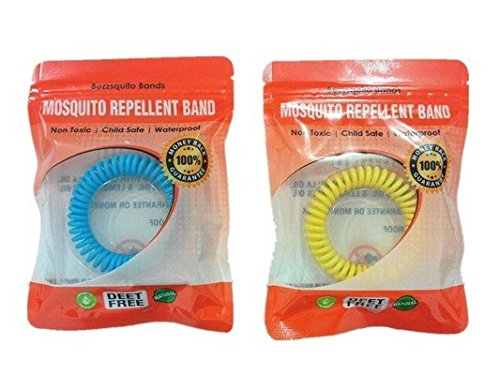 Mosquito Repellent Bracelets Repel Mosquitoes and Bugs - 10 Bands in a Box - No Deet - Packaged in a Resealable Zip Lock Bag for Longer Use - Waterproof Bands - The Ones That Actually Work Review