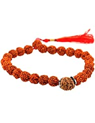 Jewels River Nine Mukhi Nepal Rudraksha Bracelet For Goddess Durga