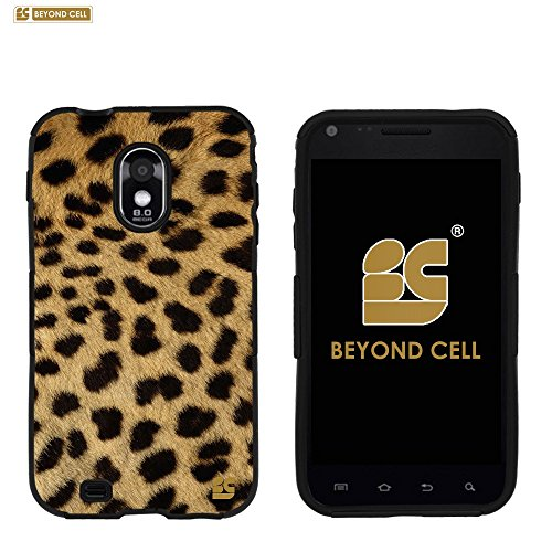 PhoneAidCase® For Samsung Galaxy S II ( S2 ) Epic 4G Touch D710 (SPH-D710) 4.52 inch CDMA ( Sprint / Boost Mobile / Virgin Mobile / US Cellular ) Art Design Image Hard Slim Fit Cellphone Case Cover Light Weight 2 Pieces Easy Snap on Durable Cell Phone Cases - Cheetah Print Design (Samsung Galaxy S2 Virgin Mobile compare prices)
