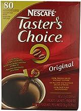 Nescafe Coffee Taster39s Choice Stick Packs Original  80 Count