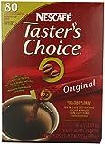 Nescafe Coffee, Taster's Choice Stick Packs, Original , 80 Count