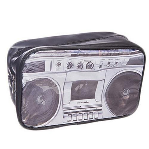 Man's Black Ghetto Blaster