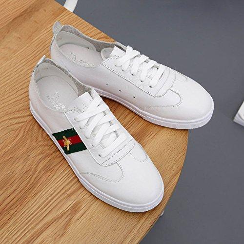 GGH Signore lavoro confortevole slittamento sui fannulloni delle donne scarpe casual White,36