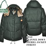 Flannel Down Sierra Jacket 9950: Forest