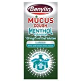 Benylin 150ml 100 mg Mucus Cough Menthol Syrup
