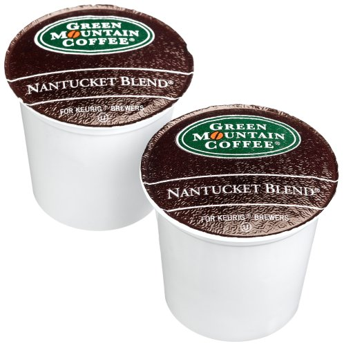 Green Mountain Coffee Nantucket Blend, K-Cups For Keurig Brewers, 24-Count 8.8 Ounce Boxes (Pack Of 2)