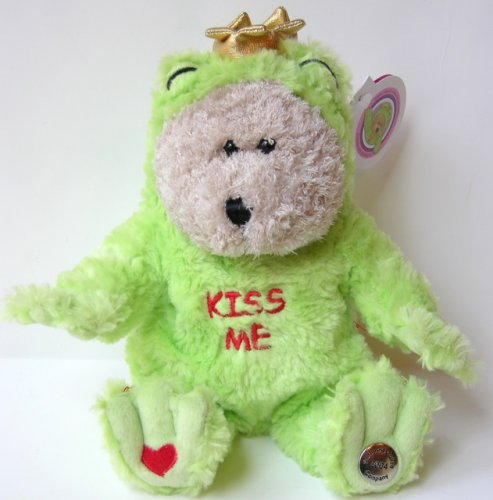 Bearista Bear Collection 2004: Valentines Frog