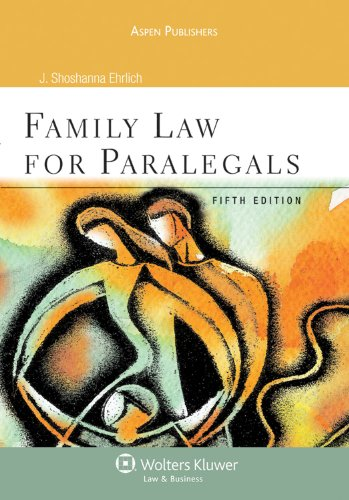Family Law for Paralegals 5e
