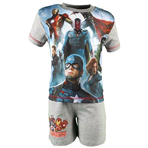 Avengers Set Pantaloncini con Camicia Maniche Corte Ragazzo Assemble Avengers