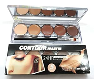 New Kiss Beauty Contour Concealer Highlighter Palette (5 Color)