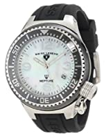 Swiss Legend Women's 11844-BKWSA Neptune White Mother-Of-Pearl Dial Watch from Swiss Legend