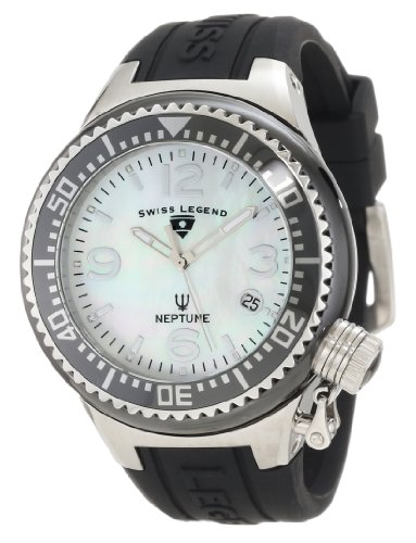 Swiss Legend Women's 11844-BKWSA Neptune White