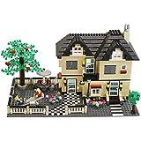 DimpleChild MiniBricks Toy Villa Family House Set (816-Piece)