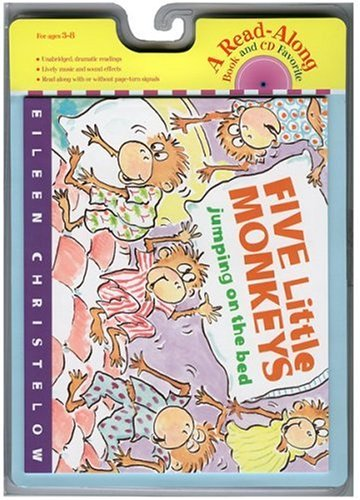 Five Little Monkeys Jumping on the Bed Book & CD (Read Along Book & CD)