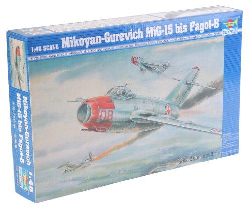 Trumpeter-02806-Modellbausatz-MiG-15-bis-Fagot