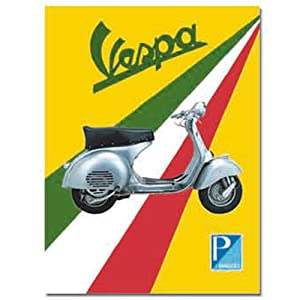 VESPA POSTER Scooter 60/'s Classy Italy Retro Large Poster Ad Wall Decoration Hot