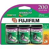 Fujifilm 200 Speed APS Film 25 Exposures - 3 Pack