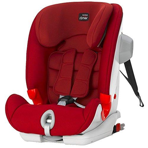 Britax-Romer 2000022219 Advansafix II Sict Seggiolino Auto, Rosso (Flame Red)