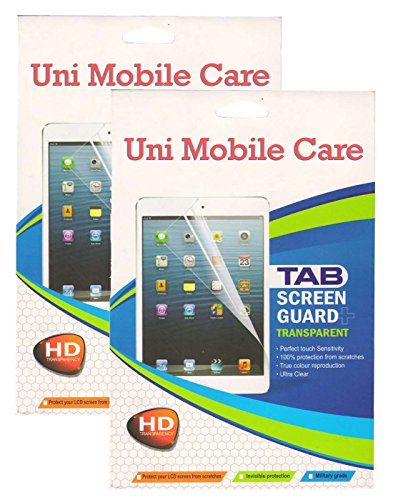 Uni Mobile Care Clear Screen Guard/Screen Protector For Xiaomi Mi Pad (combo pack of 2 pcs)