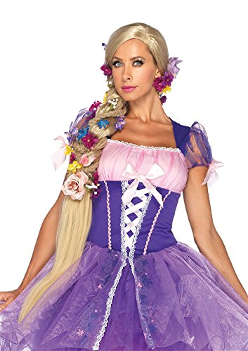 Rapunzel Adult Costume Wig Blonde Halloween Costume - Most Adults