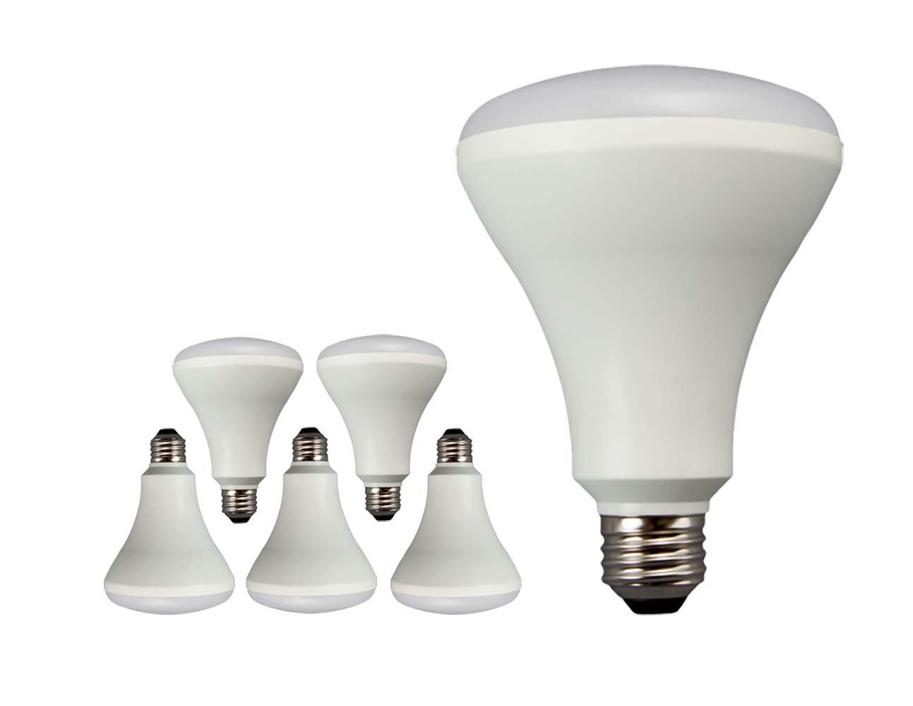 Cheap Tcp Lbr301050knd6 Led Br30 65 Watt Equivalent Daylight 5000k Flood Light Bulb 6 Pack
