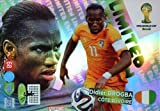 FIFA World Cup 2014 Brazil Adrenalyn XL Didier Drogba Limited Edition