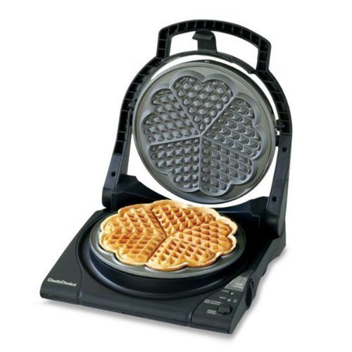 Chef Choice Wafflepro Five Of Hearts M840 Electric Waffle Maker