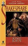 King John (New Folger Library Shakespeare) (0671722735) by Shakespeare, William