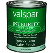 Valspar 004.6012298.005 Integrity Latex Satin Interior Wall Paint And Primer In One Paint