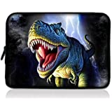 """Dinosaur 7"""" 7.9"""" 8"""" 8.2 inch Laptop Protective bag Sleeve Case Pouch for Apple iPad Mini, Google Nexus 7, Blackberry Playbook, Samsung Galaxy Tab 7.7 /Tab 2 7.0 P3100 P6200/HTC Flyer/ B&N Nook Color/Kindle Touch fire HD /Pandigital Planet Tablet/Elonex ETouch 760ET / Linx Commtiva N700/Acer Iconia Tab A100 A110 A101/Archos Arnova ChildPad 7/NATPC M010 M010S M009S/Sumvision Cyclone Astro+/Allwinner A13/ HKC LC07740 Capacitive Android 2.2 4.0 Tablet PC W/Cover"""