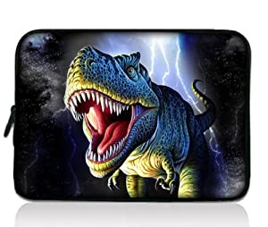 "Dinosaur 7"" 7.9"" 8"" 8.2 inch Laptop Protective bag Sleeve Case Pouch for Apple iPad Mini, Google Nexus 7, Blackberry Playbook, Samsung Galaxy Tab 7.7 /Tab 2 7.0 P3100 P6200/HTC Flyer/ B&N Nook Color/Kindle Touch fire HD /Pandigital Planet Tablet/Elonex ETouch 760ET / Linx Commtiva N700/Acer Iconia Tab A100 A110 A101/Archos Arnova ChildPad 7/NATPC M010 M010S M009S/Sumvision Cyclone Astro+/Allwinner A13/ HKC LC07740 Capacitive Android 2.2 4.0 Tablet PC W/Cover"