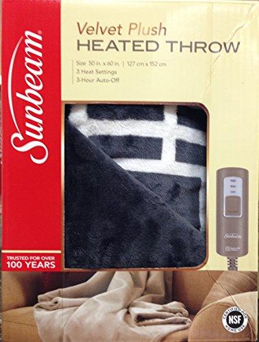 sunbeam-heated-throw-reversible-grey-white-lattice-50x60