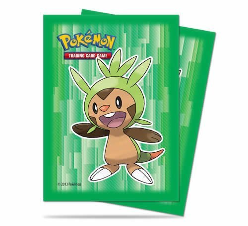 Ultra-Pro Chespin Sleeves/Deck Protectors (65 Count Pack) For Pokemon Trading Cards