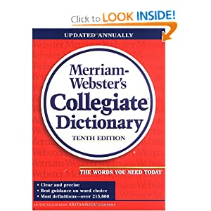Amazon.com: Merriam-Webster's Collegiate Dictionary (Merriam ...