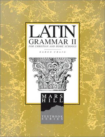 Latin Grammar II: Student