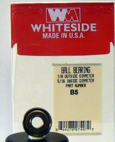 51X0CQKHEKL WHITESIDE MACHINE B5 REPLACEMENT BALL BEARINGS 7/8 OD X 5/16 ID