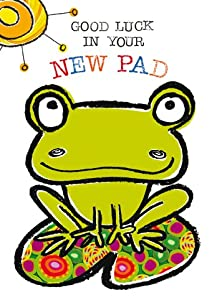 Frog Good Luck New Pad Card Amazoncouk Kitchen Amp Home