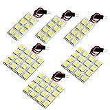 【断トツ216発!!】 LA100/110S ムーヴ 後期(ムーブ) LED ルームランプ 6点セット [H24.12~] ダイハツ 基板タイプ 圧倒的な発光数 3chip SMD LED 仕様 室内灯 カー用品 HJO