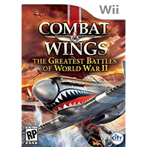 Combat Wings: The Great Battles of WWII Video Game for Nintendo Wii