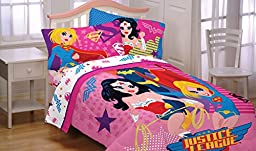 DC Comics Justice League Girl Twin Bed Comforter Wonder Woman Bedding