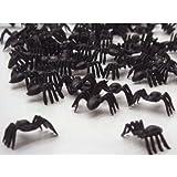 50 araignées en plastique - jouets sacs à cadeaux - Halloween