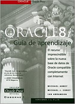 Oracle 8i Guia De Aprendizaje: Michael Abbey, Corey Abbey