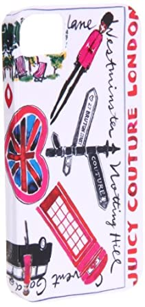 Juicy Couture Iphone Case YTRUT138,London,One Size